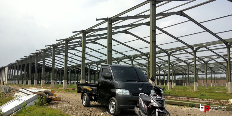 Proyek Bangun Pabrik